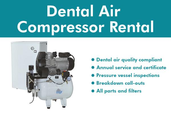 Dental Air Compressor Rental