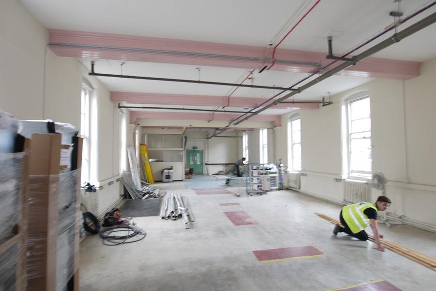 Croydon University Hospital Department Relocation