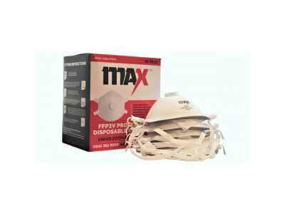 MAX FFP3 Valved Moulded Face Mask