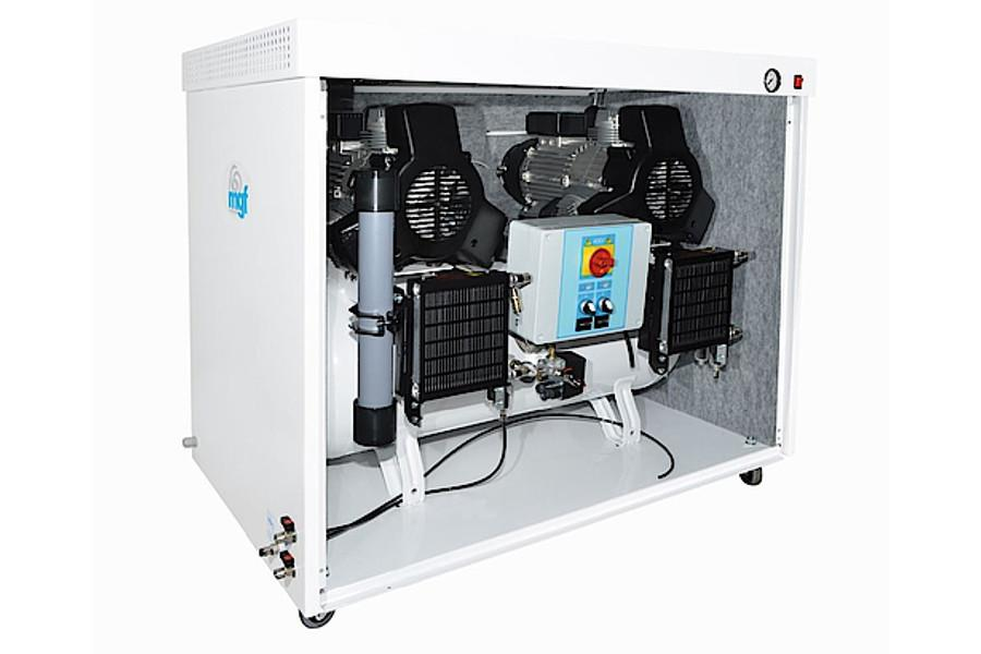MGF 100/50 silent air compressor for milling machines