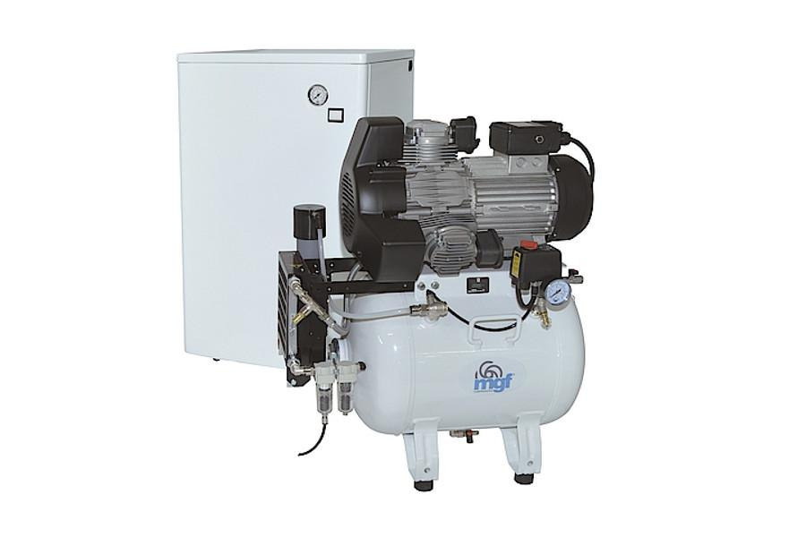 MGF 50/25 silent air compressor for milling machines