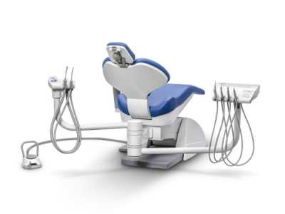Ancar A-3250 dental chair with instrument tray