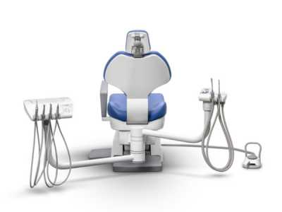 Ancar A-3250 ambidextrous dental chair