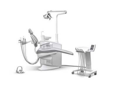 Ancar Sd-580 dental chair side view backrest up