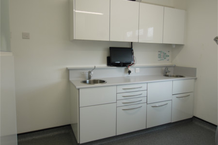 Wembley Dental Surgery Cabinetry